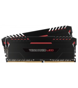 Corsair Vengeance LED Red DDR4 2666 16GB 2x8 CL16