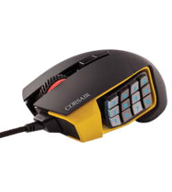 Corsair Scimitar PRO RGB Gaming Amarillo
