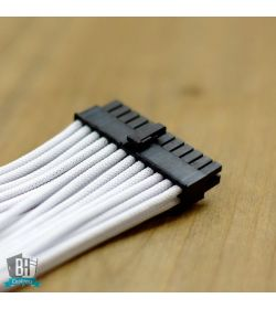 BHCustoms Kit Cableado BLANCO (24 PIN + x2 PCIe)