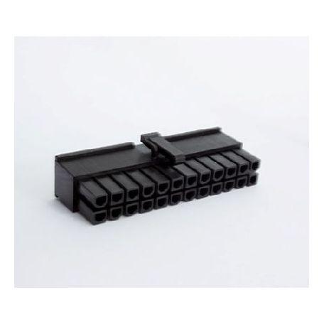 BHCustoms Conector ATX 24 pin Negro - Hembra