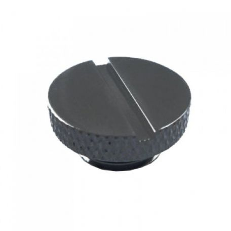 "XSPC Tapón G1/4"" Negro Cromado V2"