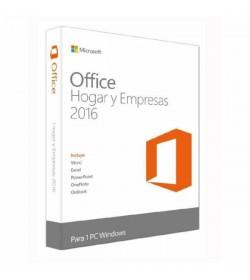Microsoft Office Hogar y Empresas 2016 1 Licencia Perpetua