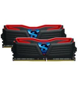 Geil Super Luce Negra/Roja DDR4 2400 8GB 2x4 CL15
