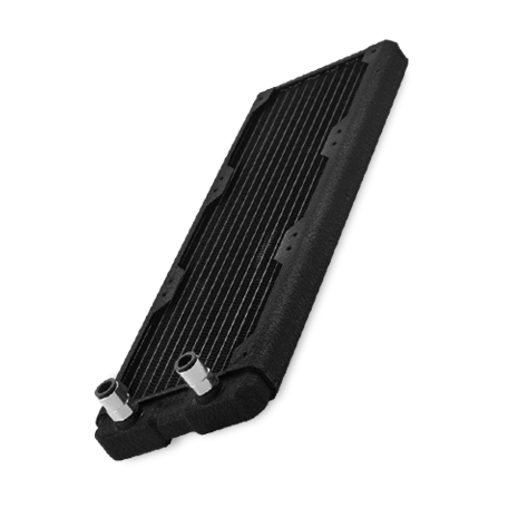 HL Black Ice Nemesis 360GTS Negro Radiador Triple