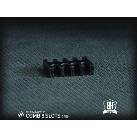 BH Custom cable comb abierto negro Full Pack 48 pcs