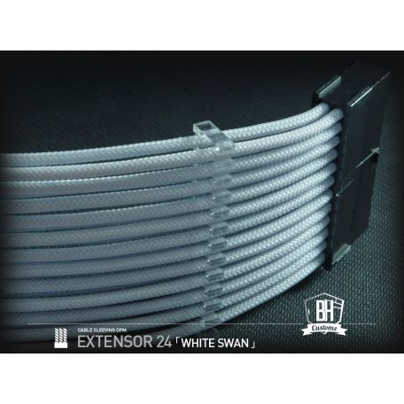 BH Custom cable 24 PIN M/F Blanco