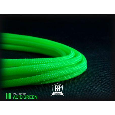 BHCustoms funda 4mm sleeve Verde Ácido
