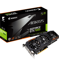 Gigabyte Aorus GeForce GTX 1060 6GB GDDR5
