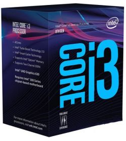 Intel Core i3 8100 3,6Ghz