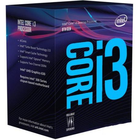 Intel Core i3 8350K 4,0Ghz