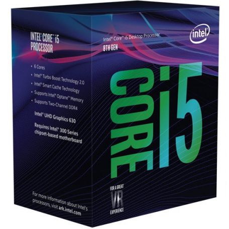 Intel core i5 8600K 3,6Ghz