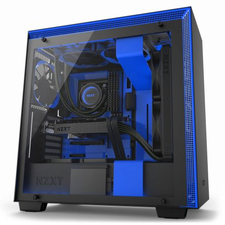 NZXT H700i Negra Azul