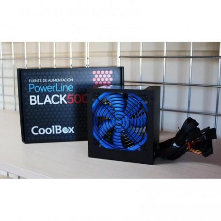 CoolBox PowerLine Black 500W