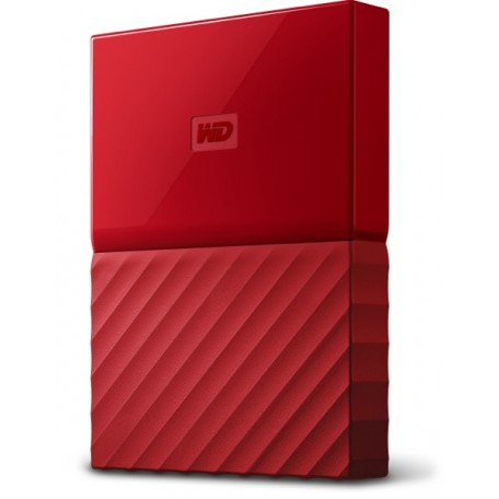 WD My Passport 3TB USB 3.0 Rojo