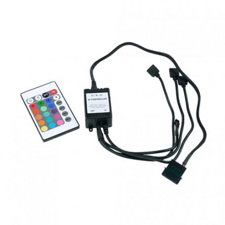 Phobya Controlador Remoto RGB con Mando