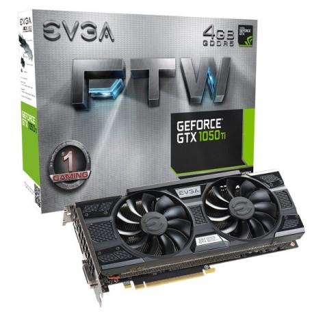 EVGA GeForce GTX 1050 Ti FTW ACX 3.0 4GB GDDR5