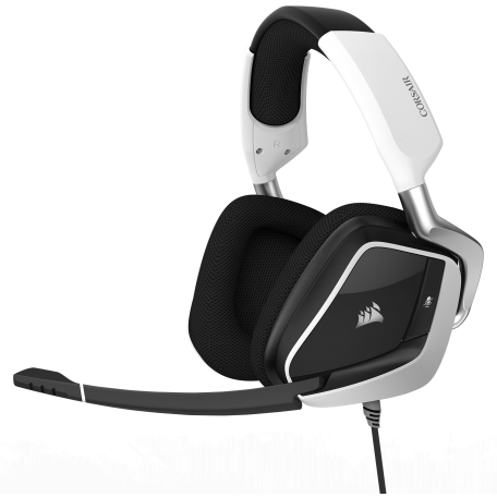 Corsair Void Pro Wireless Sourround Premium 7.1 RGB Blanco USB