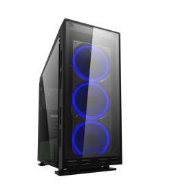 Coolbox Deep Flash RGB Cristal Templado ATX