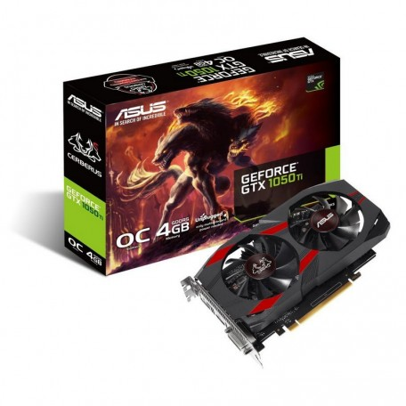 Asus Cerberus GeForce GTX 1050 Ti OC 4GB GDDR5