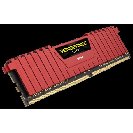 Corsair Vengeance LPX Red DDR4 2400 4GB CL14