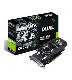 Asus GeForce GTX 1050 Dual OC 2GB GDDR5