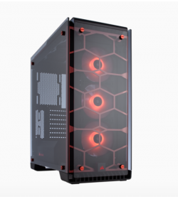 Corsair Crystal Series 570X RGB Rojo ATX