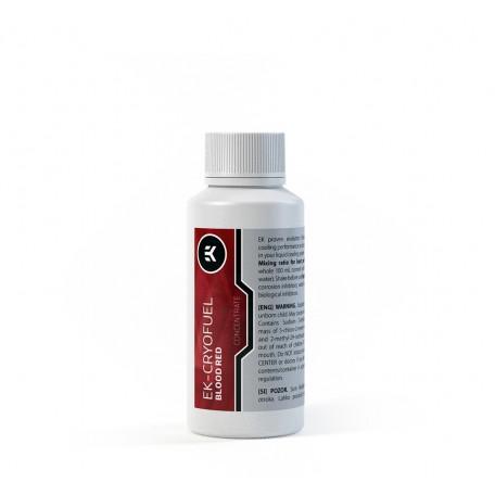 EKWB EK-CryoFuel Premix Tinte Rojo Sangre 100 ml