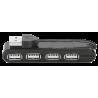 Trust Vecco Hub USB 4 puertos