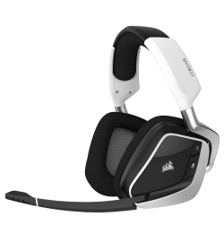 Corsair Void Pro Premium RGB 7.1 Blanco Wireless