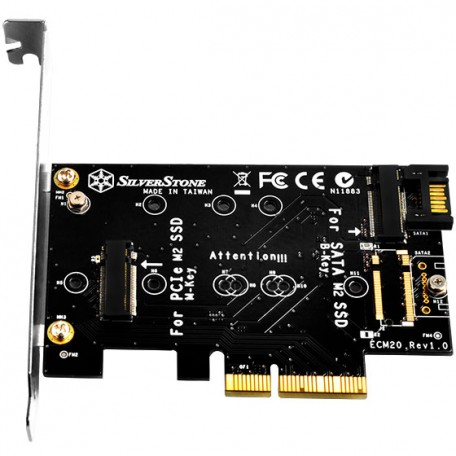 Silverstone ECM20 Controladora PCIe SSD