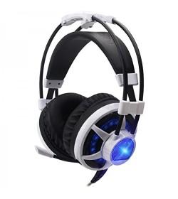 CoolBox Deep Ripple Gaming Headset Blanco
