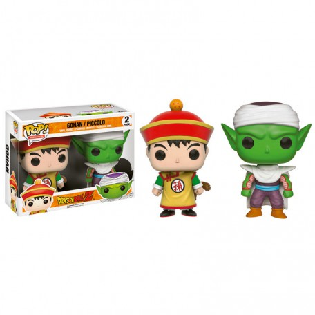 Pack 2 figuras POP! Gohan y Piccolo Exclusiva