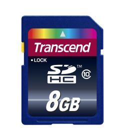 Transcend SDHC Ultimate 8GB Class 10