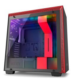 NZXT H700i Negra Roja RGB