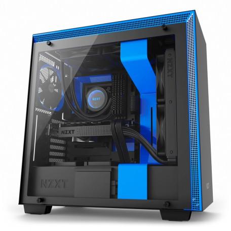 NZXT H700 Negra Azul