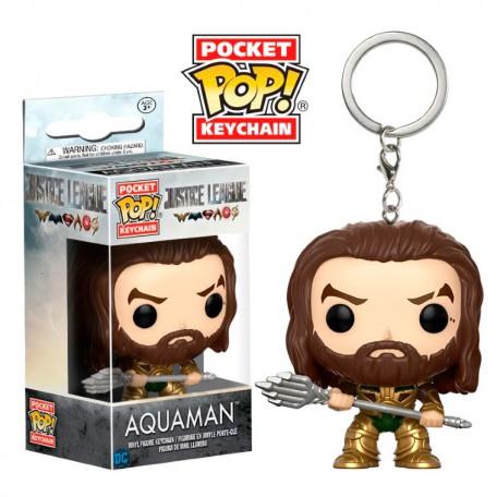 Llavero Pocket POP Aquaman