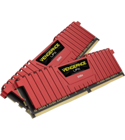Corsair Vengeance LPX Red DDR4 2666 16GB 2x8 CL16