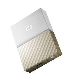 WD My Passport Ultra 3TB USB 3.0 Blanco/Oro
