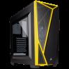 Corsair Carbide Spec-04 Ventana Negra/Amarilla