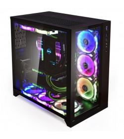 Lian Li PC-O11 Dynamic Tempered Glass Negra