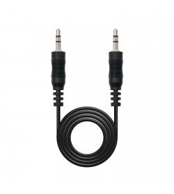 Cable Audio Estéreo Jack 3,5mm M-M 1,5m