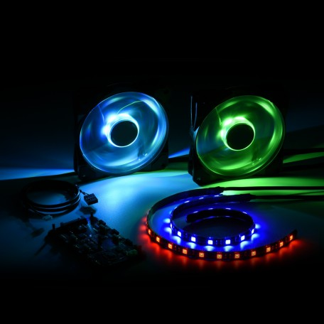 Sharkoon Dual Pack Placelight RGB 120mm