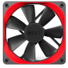 NZXT Aer Trim Red 2x120mm