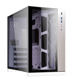 Lian Li PC-O11 Dynamic Tempered Glass Blanca