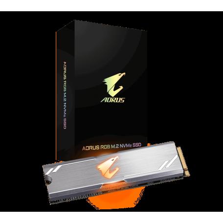 Gigabyte AORUS RGB 512GB SSD M.2 NVMe PCIe