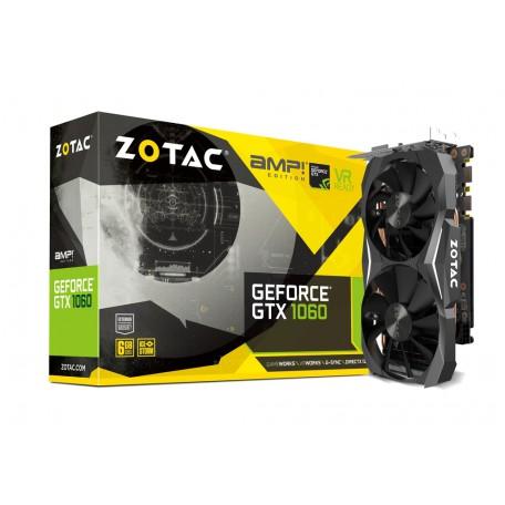Zotac GeForce GTX 1060 AMP! Edition 6GB GDDR5X