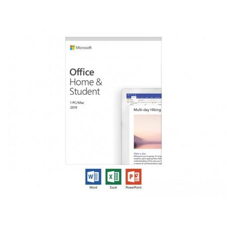 Microsoft Office 2019 Hogar y Estudiantes 1 Licencia