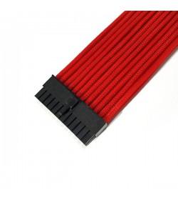 BHCustoms Extensor ATX 24 Pin 30cm Rojo