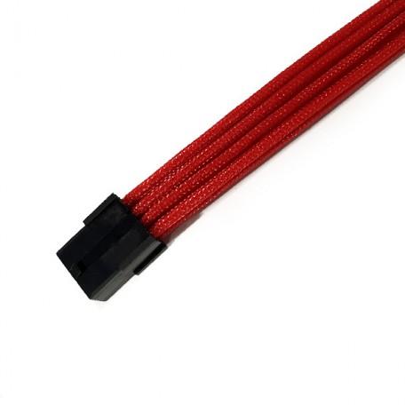 BHCustoms Extensor 6+2 Pin PCIe 45cm Rojo