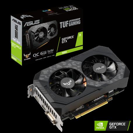 Asus TUF GTX 1660 OC 6GB GDDR6